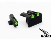 ULTIMATE AIRSOFT CUSTOM DAY AND NIGHT SIGHT FOR GLOCK 17 AND HI-CAPA